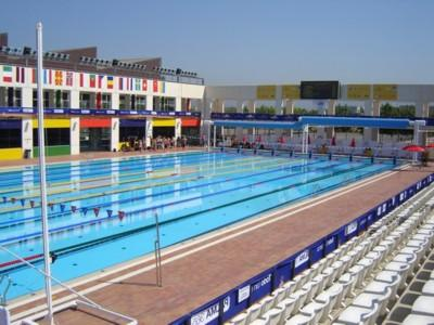 Imagen de una de las piscinas de Son Hugo.
