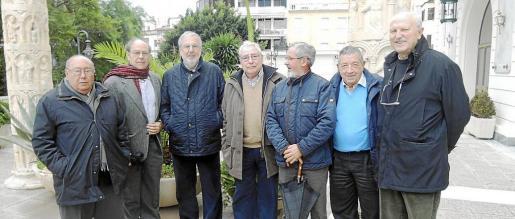 Miquel Beltran, José Francisco Tous, Sebastià Llompart, Juan Perelló, Toni Maimó, Bernadí Pons y Juan Sampol.