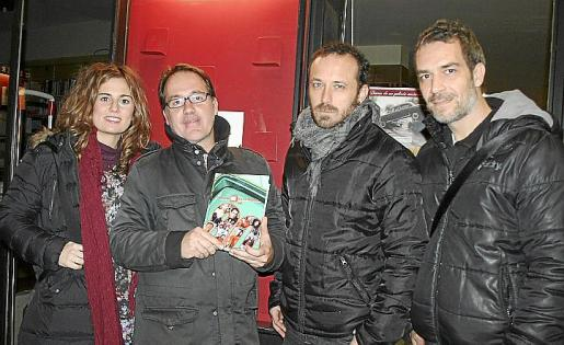 Catina Rossell, Javier Matesanz, Rafael Gallego y Xavi Nicolau.