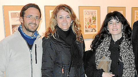 Alfons Álvarez, Yolanda Vallecillo y Maria Cavaller.