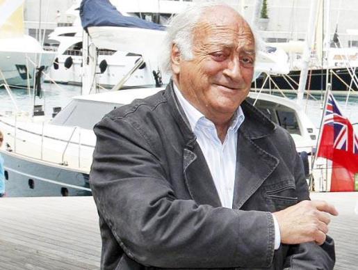 Juan Zaforteza Delgado, en una reciente entrega de premios en las instalaciones de Port Adriano.