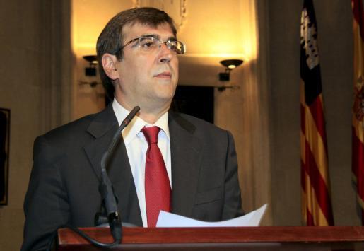 Antich ha asegurado que el recorte supondrá unos 170 millones de euros para Balears.