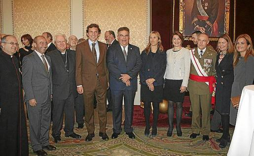 Manuel Redondo, Antonio Gómez, Javier Salinas, Mateo Isern, Bartomeu Barceló, Teresa Palmer, Margalida Duran, Casimiro Sanjuán, María Salom y Gari Durán.