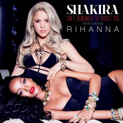 Portada del sencillo que han grabado juntas Shakira y Rihanna.