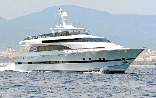 Imagen del 'Fortuna' en una de sus últimas singladuras por la bahía de Palma.