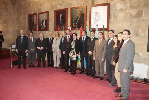 El Consolat de la Mar ha albergado la conferencia de presidentes de Parlamentos Autonómicos.