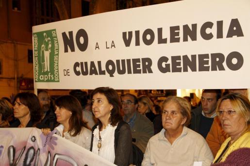 Imagen de archivo de una manifestación en contra de la violencia de género.