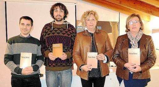 Carles Cabrera, Antoni Lluís Reyes, Margalida Horrach y Maria Payeras.