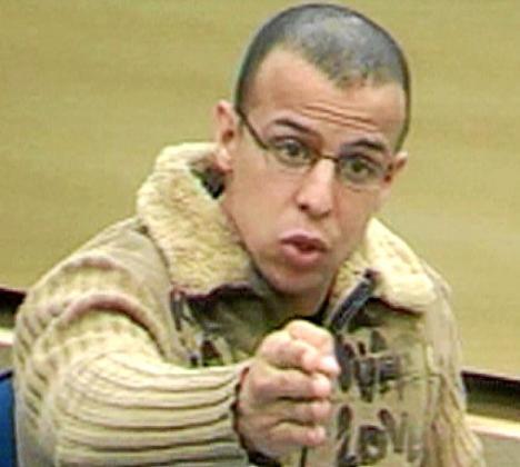 Imagen de Rafá Zouhier durante el juicio del 11-M.