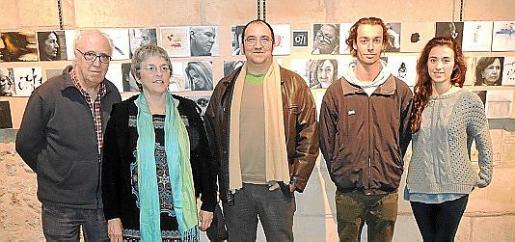 Víctor Andreu, Merche Martínez, Domiciano Brezmes, Dario Di Dio y Clara Brezmes.