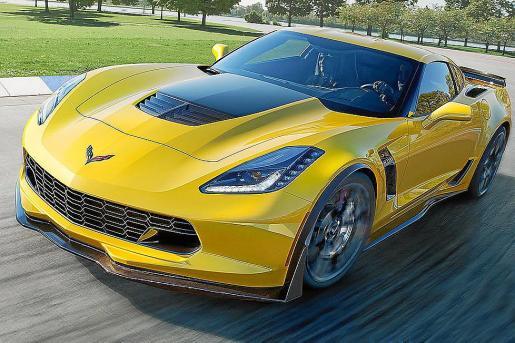 En el stand de Chevrolet se ha podido admirar la versión más potente del Corvette, el Z06,de 625 CV.