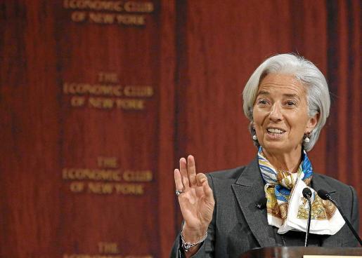 El FMI, que dirige Christine Lagarde, vislumbra nuevas tensiones en países emergentes.