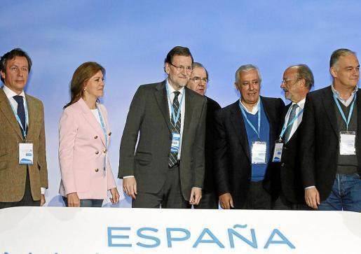 María Dolores de Cospedal defendió la unidad de España en su intervención en la convención nacional del PP.