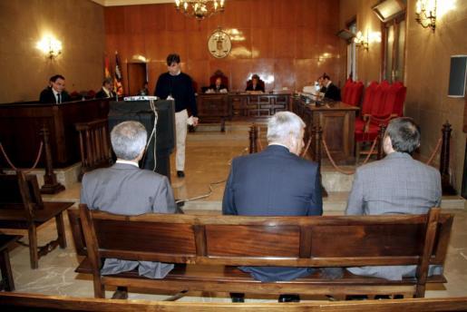 Vicens, Martín y Nicolau, ante el juez.