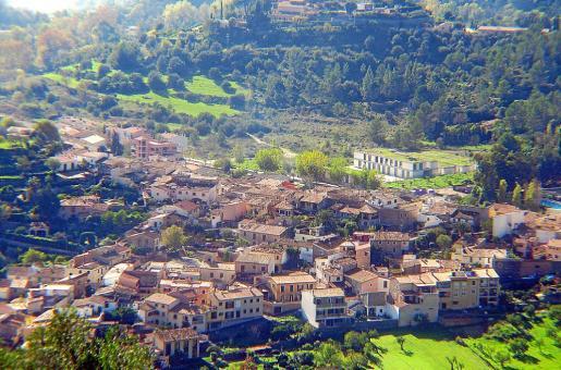En la imagen, una vista panorámica del municipio de la Serra.