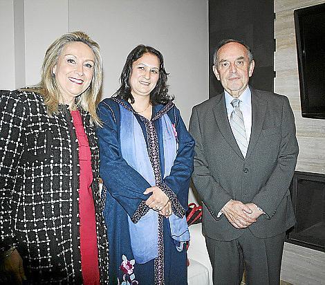 recepción al ministro marroquí Aziz Rabbah
