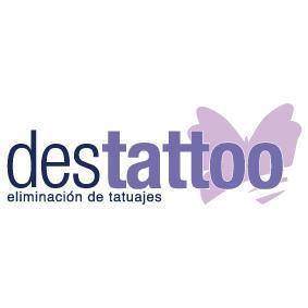 Logotipo del centro de eliminación de tatuajes Detattoo.
