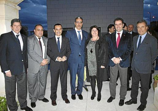 Albert Candela, Mohammed Harit, Joaquín García, Aziz Rabbah, Lourdes Cardona, Jaime Juan y Juan Gual de Torrella.