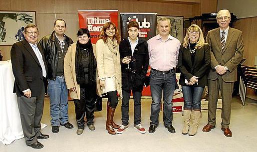 Luis Anaya, Ricardo Aparicio, María Cifre, María José Sánchez, Jaume Pallicer, Miquel Pallicer, Fina Costa y Pedro Comas.