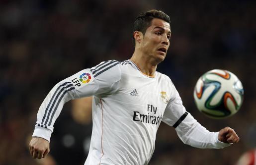 Cristiano Ronaldo, en el partido del domingo pasado ante el Athlétic de Bilbao.