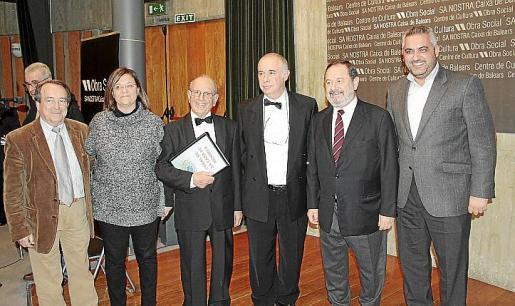 Miguel Timoner, Angels Coll, Joan Coll, Quico Marqués, Vicenç Rotger y Toni Mercadal.