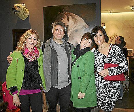 Paula Oliva, Alejandro Maciá, Paula Formenti y Ana Quintás.