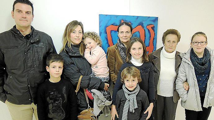 Rafel Perelló en la galería Marimón