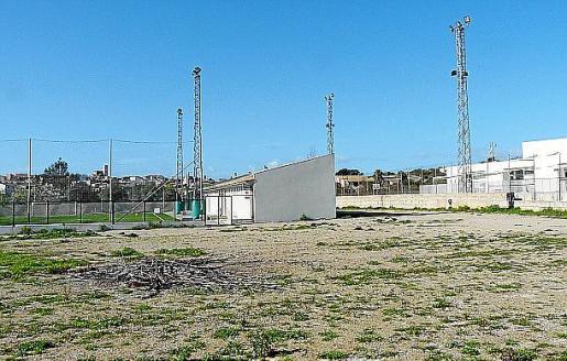 La instalación se realizará en el antiguo campo de fútbol.