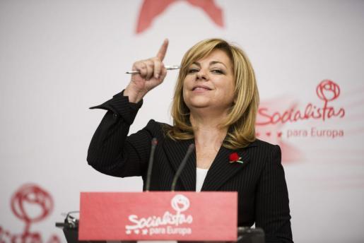 La vicesecretaria general del PSOE, Elena Valenciano, en una reciente imagen.