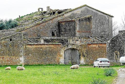 Una imagen de archivo de las 'cases' de Son Bordils, catalogadas y protegidas.