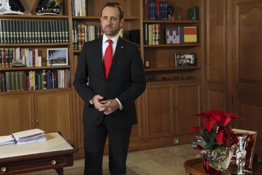 Fotografía del presidente, José Ramón Bauzá.