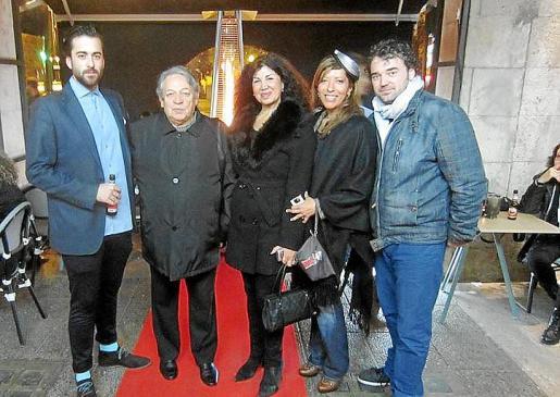 Carlos Prieto, José Luis Ardura, Sedi Bevaharrad, Gema Muñoz y Juanjo Moreno.
