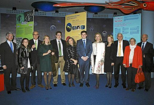 Ramón García, María Muñoz, Andreu Mesquida, Pilar Cavero, Antoni Bennàssar, Rosa Hernández, Martí Sansaloni, María Dolores Caldentey, Kristine Haeckel, Guillem Roser, Rosa Carbó y Bartomeu Anguera.