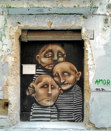 Canamunt o Sa Gerreria son los puntos calientes del arte urbano.