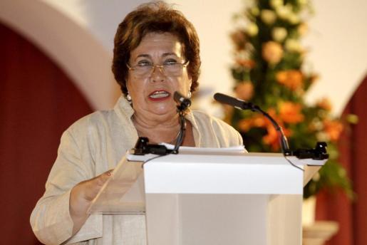 María Luisa Cava de Llano, en una fotografía de archivo.