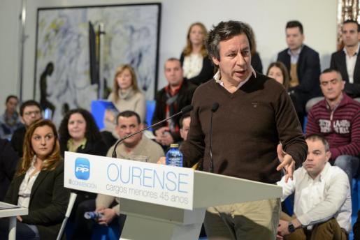 El vicesecretario general de Organización del Partido Popular, Carlos Floriano.