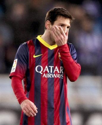 El jugador del FC Barcelona, Leo Messi.