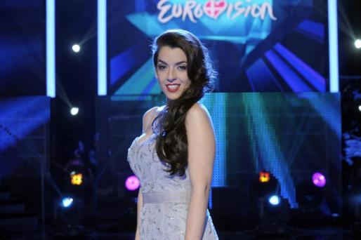 Fotografía facilitada por RTVE de la cantante Ruth Lorenzo quien, con la canción 'Dancing in the rain', ha sido elegida para representar a España en la final del Festival de Eurovisión.