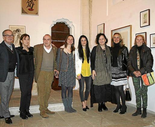 Luis García-Ruiz, Jule Kewenico, Gabriel Ballester, Ángela Dameto, Clara Garau, Pilar Ribal, María Zaforteza y Lola Sobredo.
