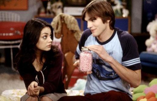 Mila Kunis y Ashton Kutcher, en una imagen de archivo.