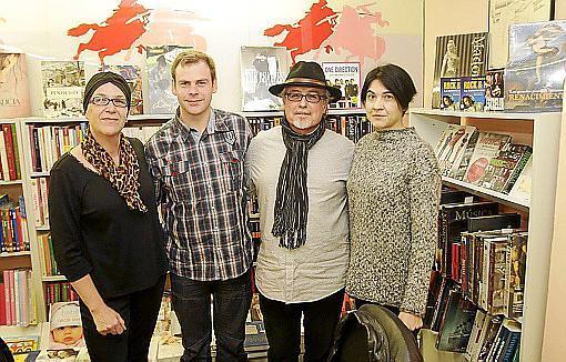 Marga Martorell, Lan S. Garcia, Ferran Pereyra y Àngels Cano.