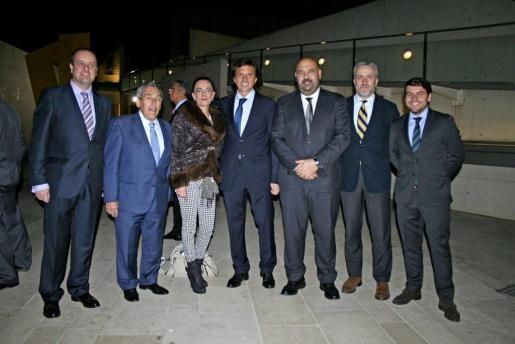 Antonio Daudero, Pedro Iriondo, Sylvia Riera, Mateo Isern, Jaime Martínez, Pedro Homar y Javier Bonet.