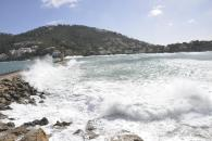 Temporal de viento en las islas