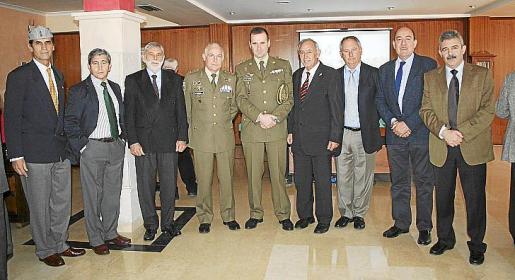 Carlos Alemán, Jaime Coll Benejam, Rafael Socías, Casimiro Sanjuán, Alfredo Pérez de Aguado, Rafael Feliu, Severiano Quevedo, Eugenio Segura y Máximo Romeral.
