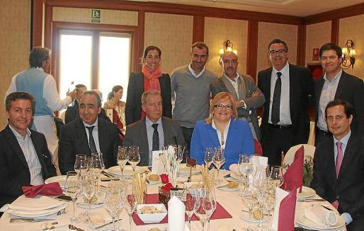 Francisco Mercadal, Toni Payeras, Mariana Chacón, Jordi Garau, Bernat Vidal, Catalina Hoffmann, Jesús Díaz, Josep Roqué, Juanjo Amengual y Óscar Luis González.