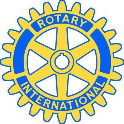 Logotipo del Rotary Club.