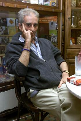 Fotografía de archivo (Las Palmas de Gran Canaria, 26/11/2001), del poeta, actor y escritor madrileño Leopoldo María Panero.