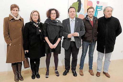 Rosa Maria Tarragó, Maria Payeras, Mariana Sarraute, Rafel Torres, David Devis y Andreu Gili.