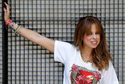 La cantante Pastora Soler, el pasado mes de septiembre durante un acto de promoción de su último disco.