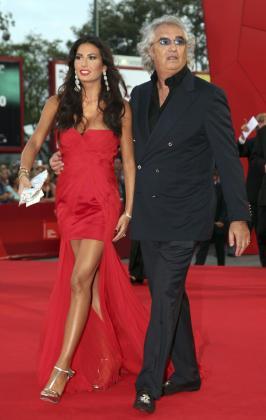 Flavio Briatore y Elisabetta Gregoraci, en una imagen de archivo.